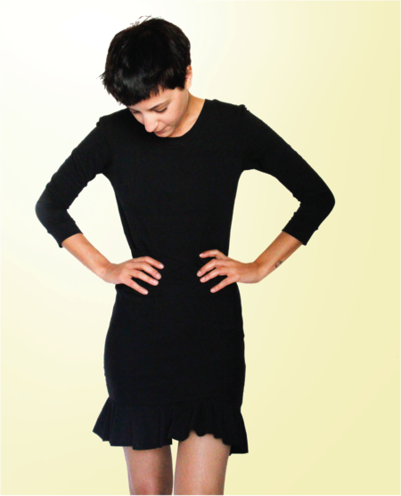 Upcycled T-shirt Dress Sewing Tutorial