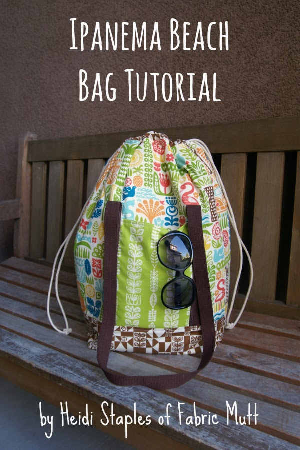 Ipanema Beach Bag Sewing Tutorial