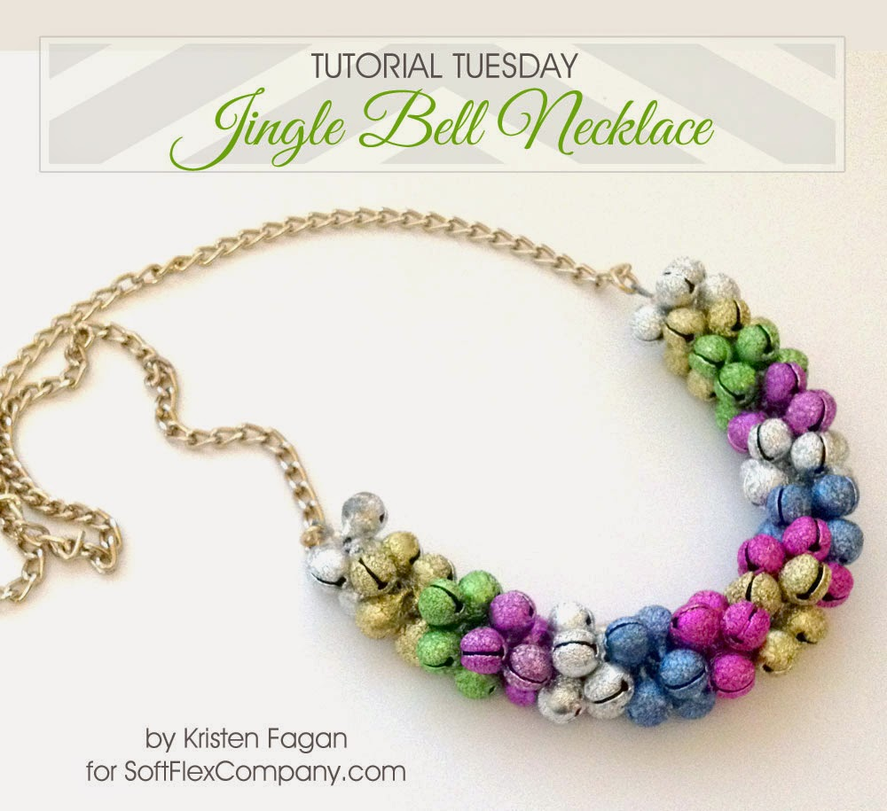 Jingle Bell Necklace Tutorial