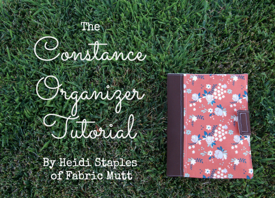 Organizer Sewing Tutorial
