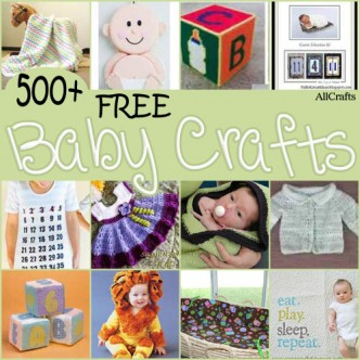 500+ Free Baby Crafts