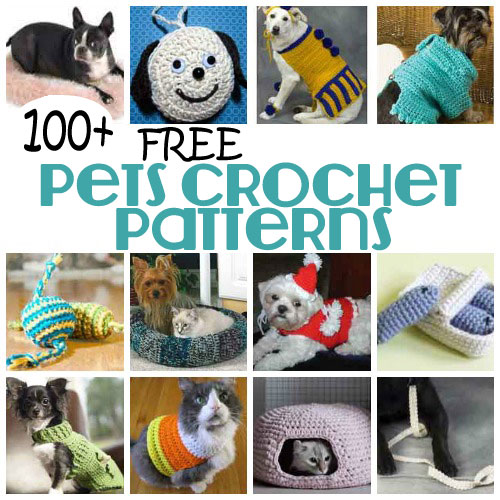 ... cat and other pets with our collection of 100+ Free Pets Crochet