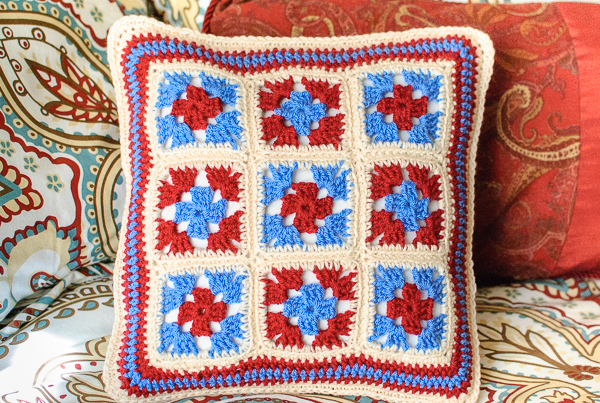 Crochet Pattern Granny Square Pillows : Granny Crochet Pillow Patterns ? AllCrafts Free Crafts Update
