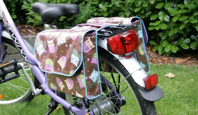 Bike Bag Sewing Tutorial