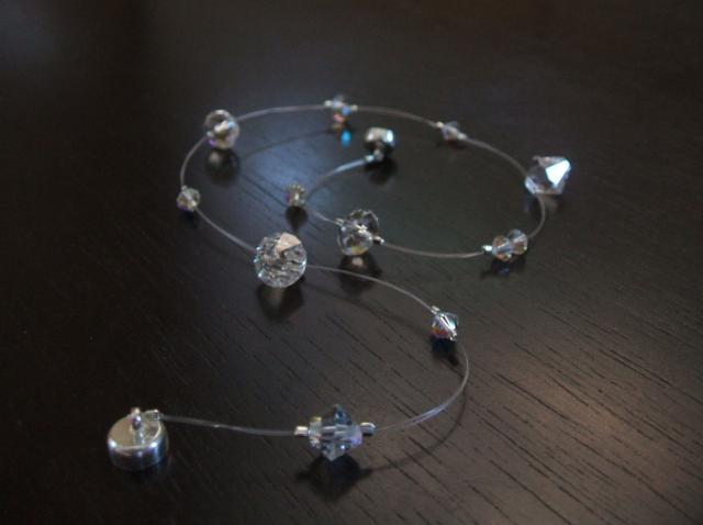 Invisible Floating Bracelet - Step by Step Beading Project
