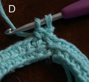 Linked Double Crochet Tutorial