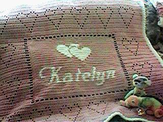 Personalized Baby Afghan Free Crochet Pattern