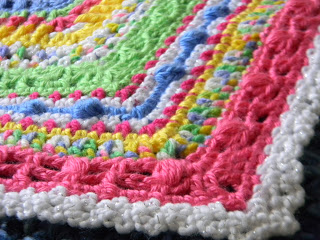 Faeries Sampler Baby Afghan Pattern