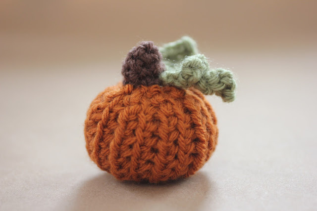 Teeny Tiny Crochet Pumpkin Pattern