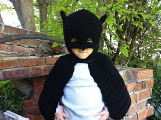 Batman Inspired Costume Crochet Pattern
