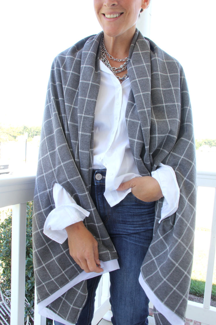 Cape Scarf Sewing Pattern