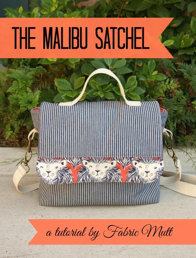 Malibu Satchel Sewing Tutorial