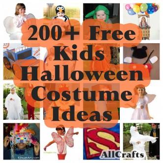 200+ Free Kids Halloween Costume Ideas