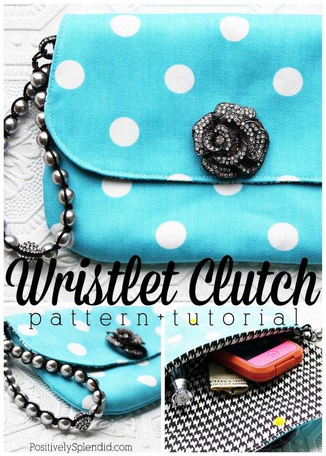 Wristlet Sewing Pattern