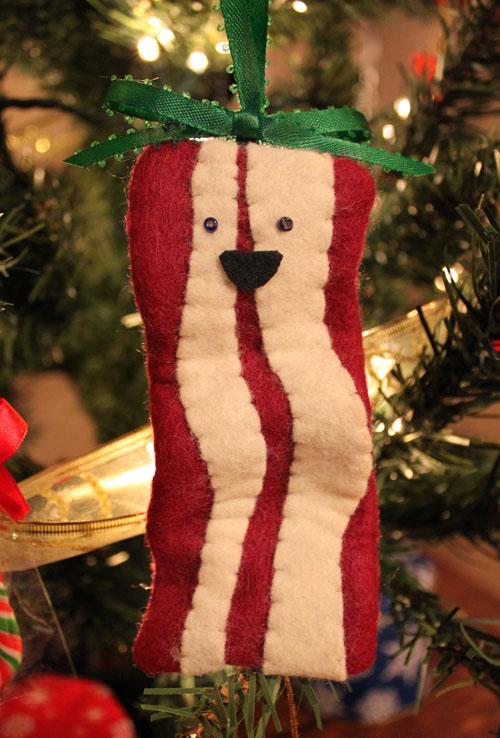 Bacon Christmas Ornament Tutorial