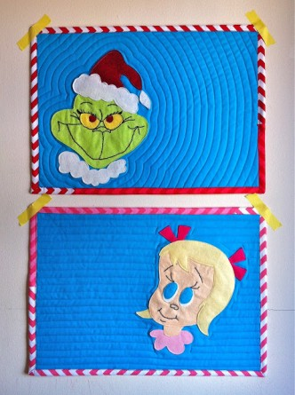 Grinch Placemats Free Pattern
