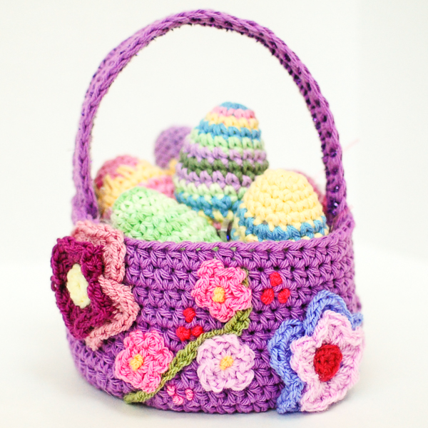 Free Pattern Crochet Basket : Free Easter Basket Crochet Pattern ? AllCrafts Free Crafts ...
