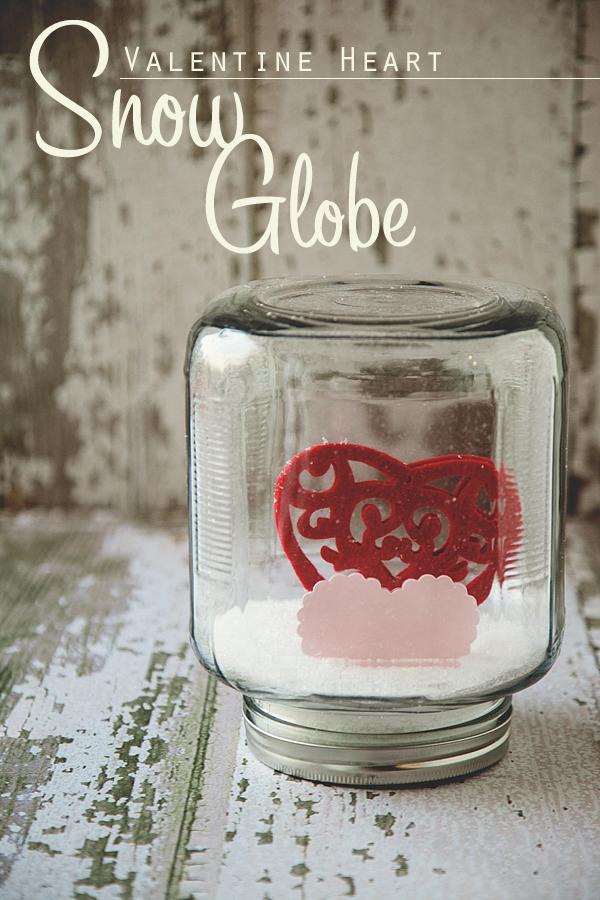 DIY Valentine Snow Globes