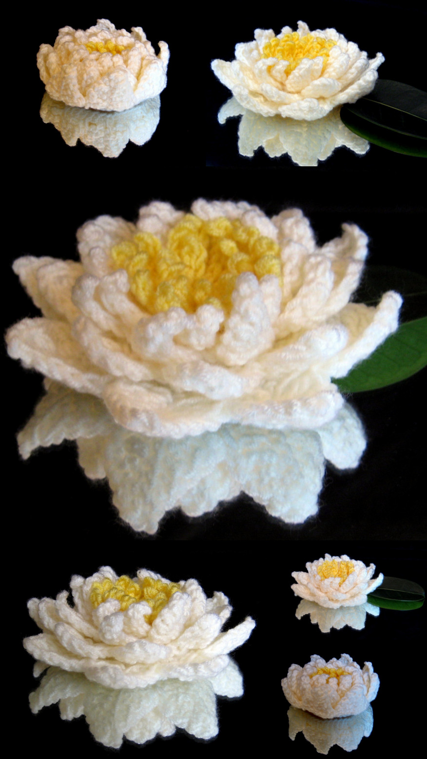 Water Lily Crochet Pattern