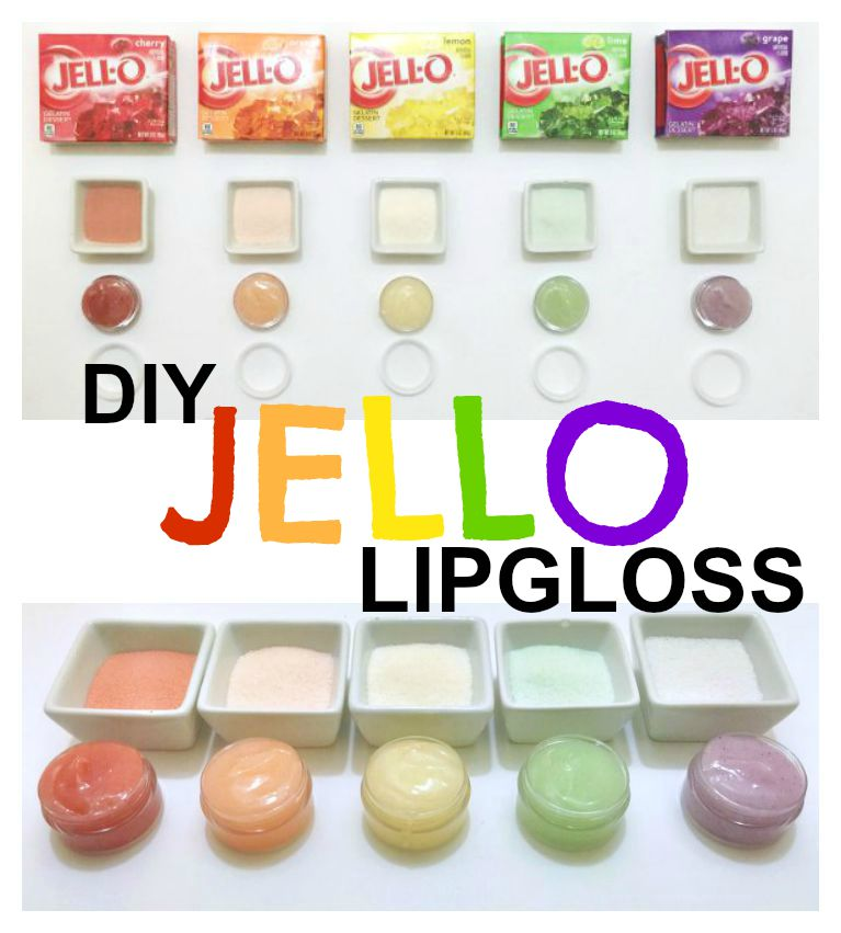 Diy Jello Lip Gloss Allcrafts Crafts