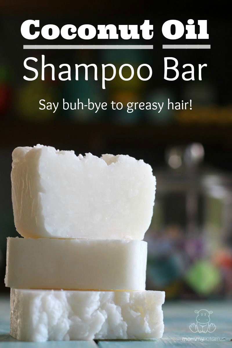 Coconut Oil Shampoo Bar Recipe