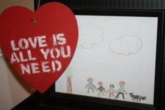 Heart Chalkboard Valentine's Day Tutorial