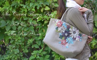 Flowers Bag Tutorial