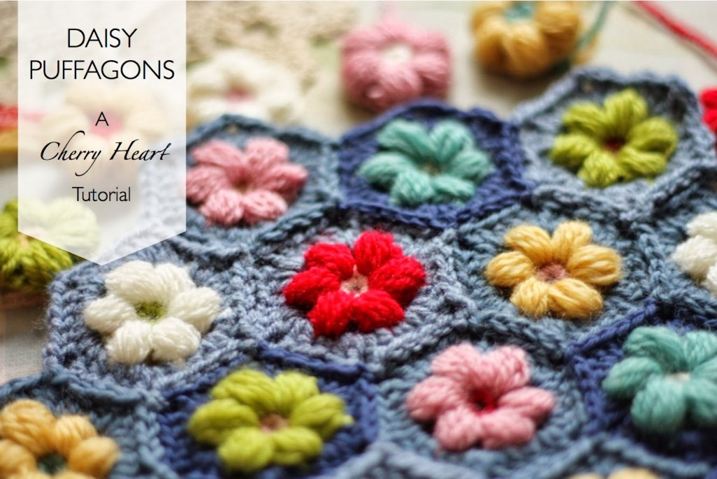 Daisy Puffagon Crochet Tutorial