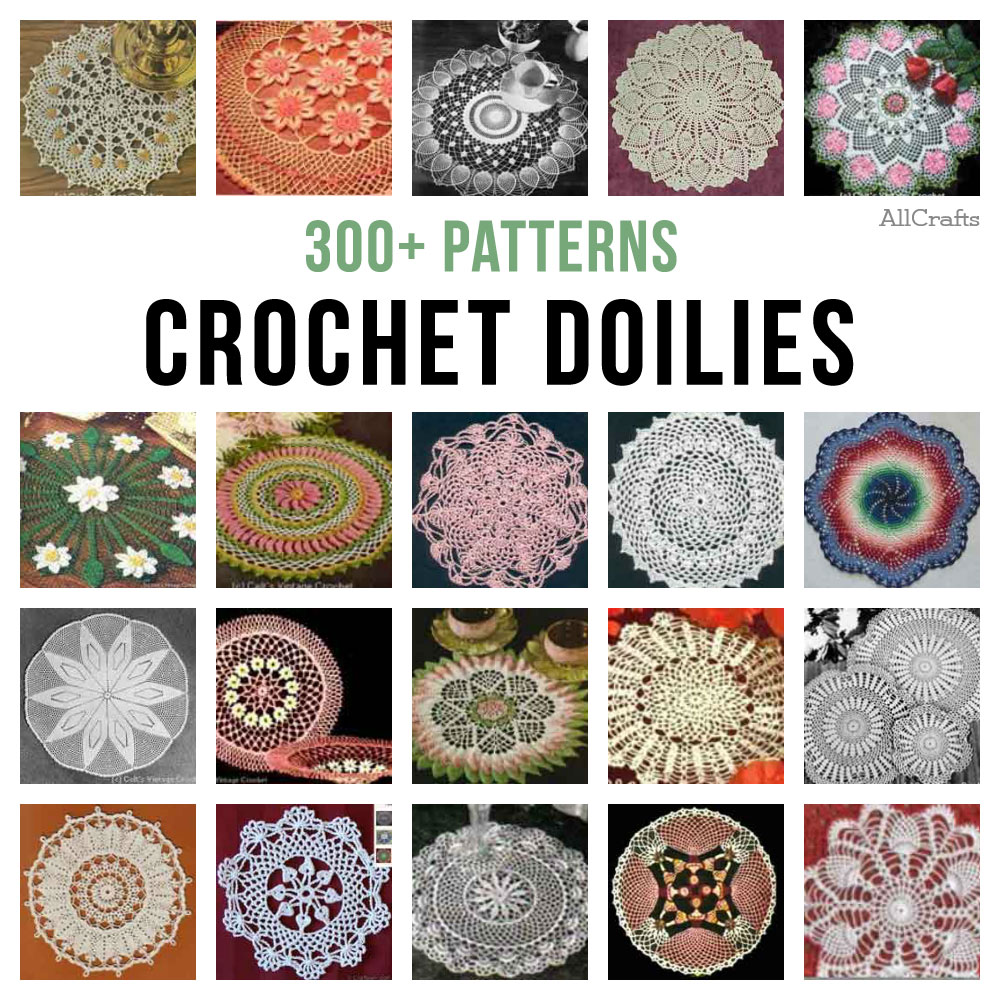 300+ Free Crochet Doily Patterns ? AllCrafts Free Crafts ...