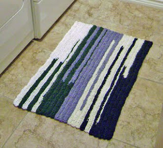 Tarnation Rectangle Rug Crochet Pattern