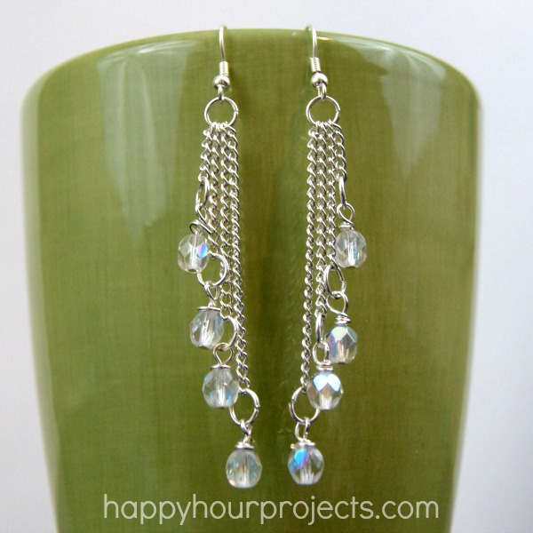 Easy Cascade Dangle Earrings