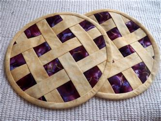 Pie Potholders Sewing Tutorial