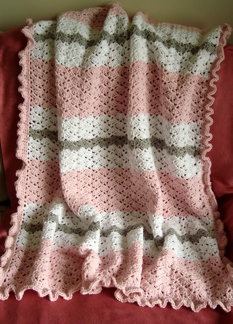 Snapdragon Stitch Baby Blanket Crochet Pattern Allcrafts