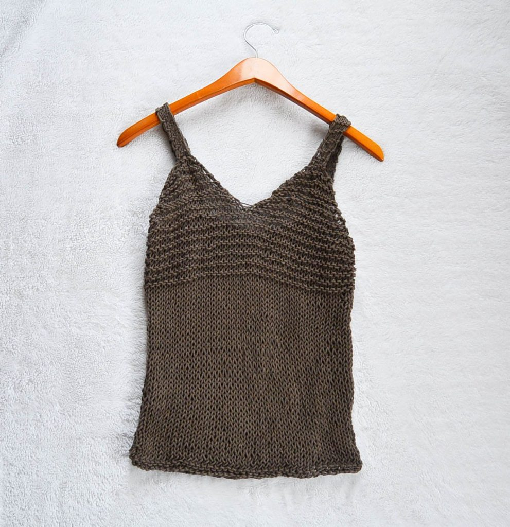 Easy Knit Top Pattern : Simple Tank Top Knitting Pattern   AllCrafts Free Crafts Update