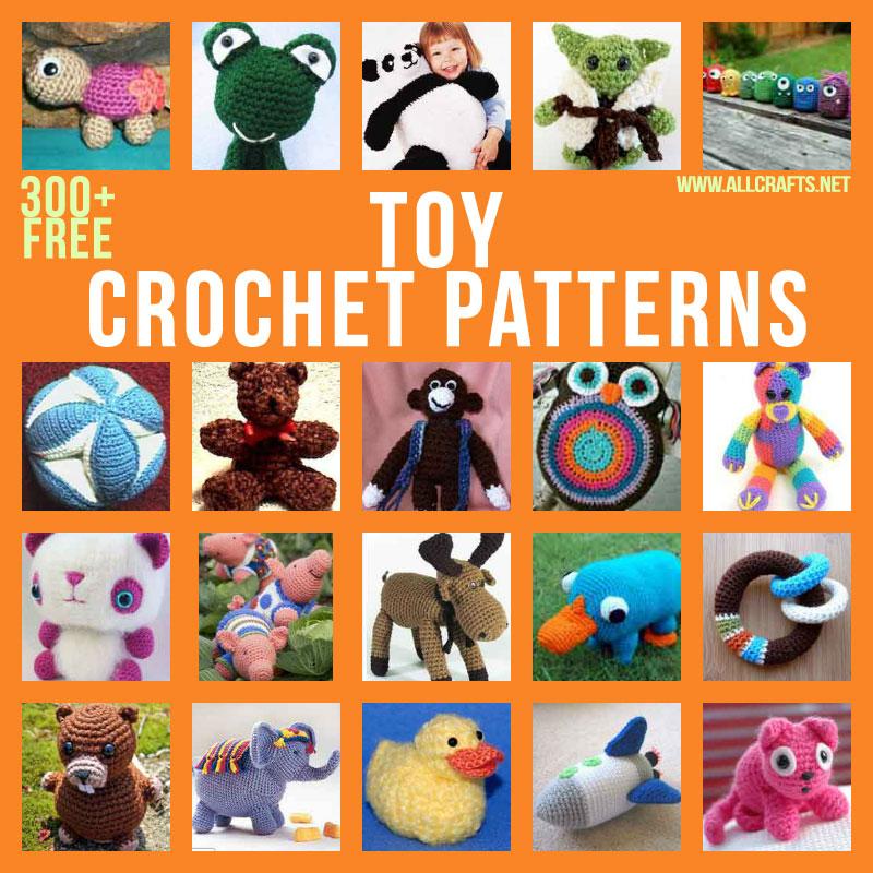 300+ Free Toy Crochet Patterns