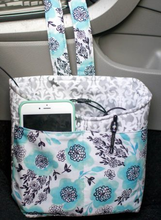 Car Diddy Bag Free Sewing Tutorial