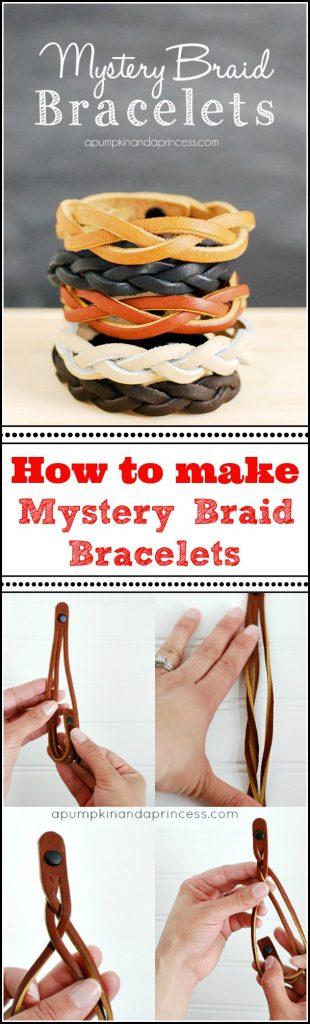 Mystery Braid Bracelet Tutorial