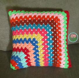 Contemporary Granny-Square Pillowcase Crochet Pattern
