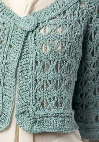 Barcelona Jacket Free Crochet Pattern