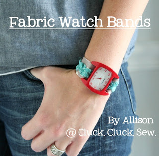 Fabric Watch Bands Sewing Tutorial