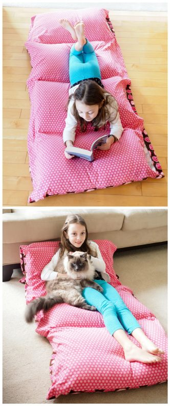 Pillow-Bed-Tutorial