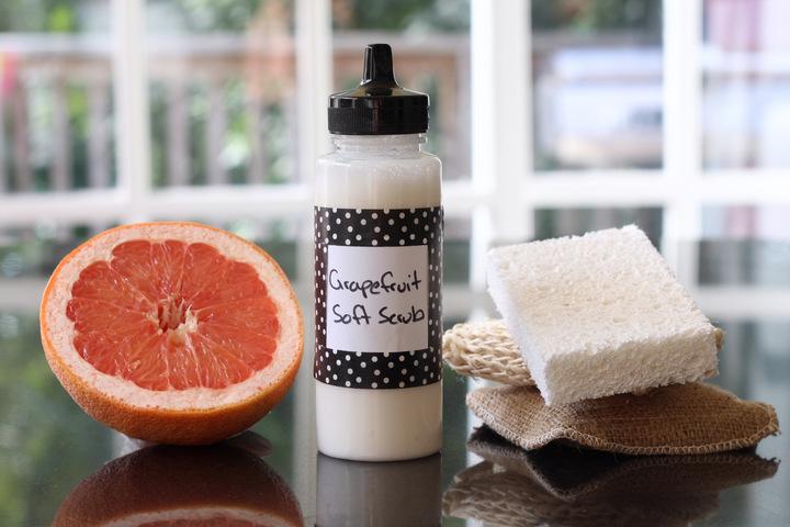 Homemade Soft Scrub