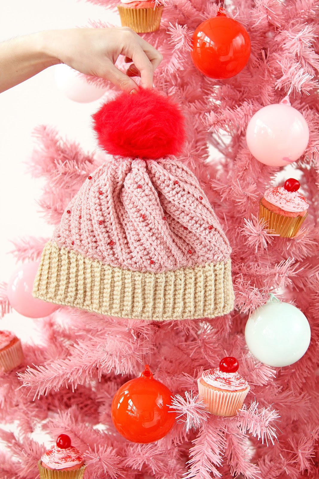 DIY Crochet Cupcake Hat