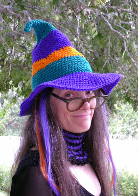 Whimsical Witch-Hat Crochet Pattern