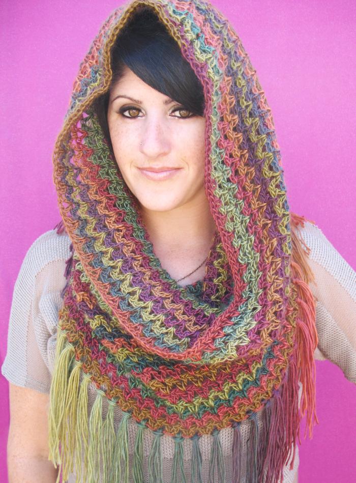 Mountains Cowl Free Crochet Pattern