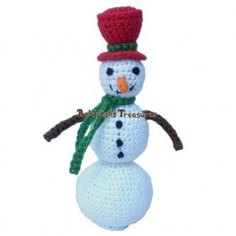 Little Snowman Free Crochet Pattern