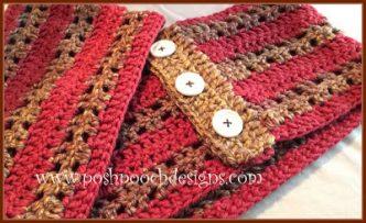 Fall into Winter Cowl Crochet Pattern