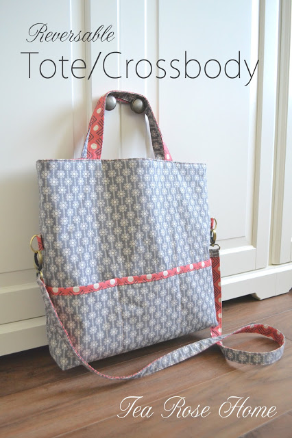 Reversable Tote/Crossbody Bag Tutorial