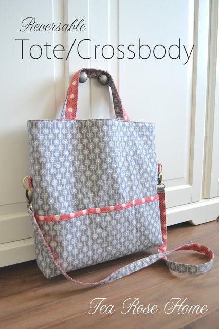 Reversable Tote/Crossbody Bag Tutorial