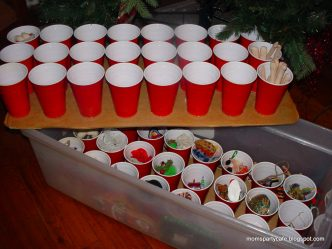 DIY Christmas Ornament Storage